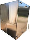 Промышленная стиральная машина СМ-А-50ЭОП (н/ж, с отжимом, электрическим и паровым видом обогрева), фото 3