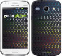 "Чехол на Samsung Galaxy Core i8262 Переливающиеся соты ""498c-88-601"""