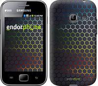 "Чехол на Samsung Galaxy Ace Duos S6802 Переливающиеся соты ""498u-253-601"""