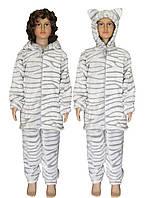 Пижама махровая детская, подростковая с ушками 03627-2 Барсик Мультяшка, р.р.36,38,40,42