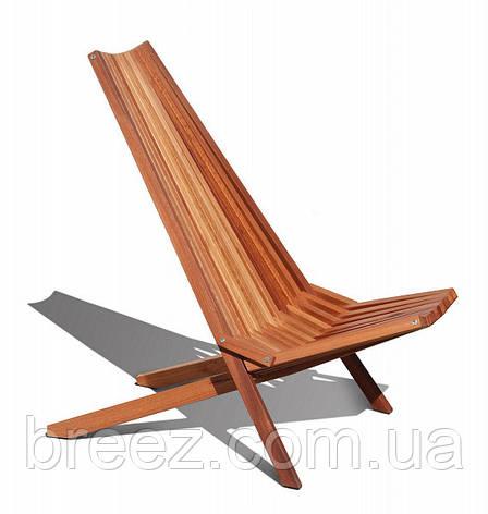 Шезлонг деревянный, фото 2