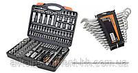Набор инструментов Miol 58-099 + набор рожковых ключей 51-710