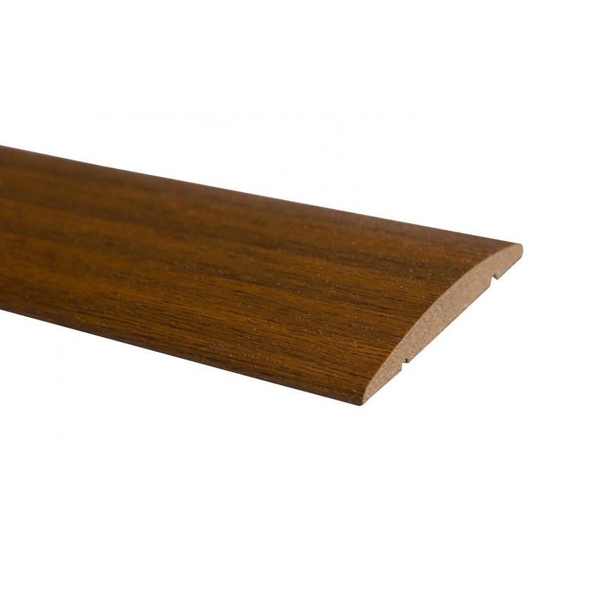 Наличник ПВХ полукруглый 70 мм орех
