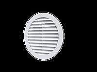 Решетка вентиляционная круглая D130 с фланцем D100 мм, шт
