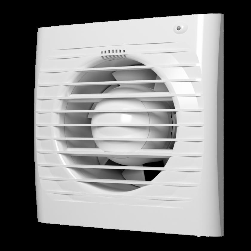 Вентилятор осевой c обратным клапаном SB D 125, шт