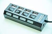 USB хаб 4SW (c переключателями) H-01