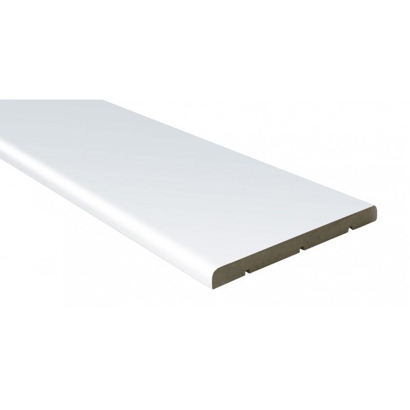Доборная доска шпон 150 мм белая лазурь