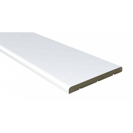 Доборная доска шпон 150 мм белая лазурь, фото 2