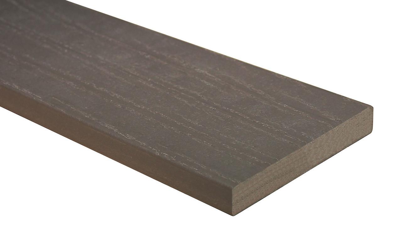 Доска ПВХ с текстурой дерева (коричневая), шт