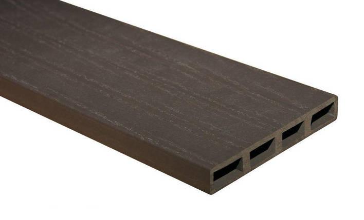 Доска ПВХ усиленная коричневая, шт, фото 2