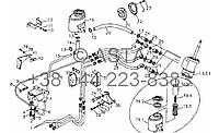 Система рулевого управления (используется для стороны масляного бака рулевого управления) на YTO X904