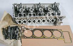Головка блока цилиндров (ГБЦ 40624.3906562) Е-III УАЗ, Газель с клапанами, прокладкой и крепежом. Трехопорная