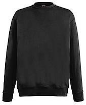 Мужской лёгкий свитер Чёрный Fruit Of The Loom  62-156-36 S