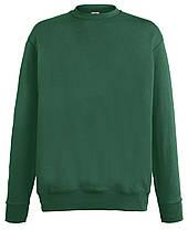 Мужской лёгкий свитер Тёмно-зелёный Fruit Of The Loom  62-156-38 S