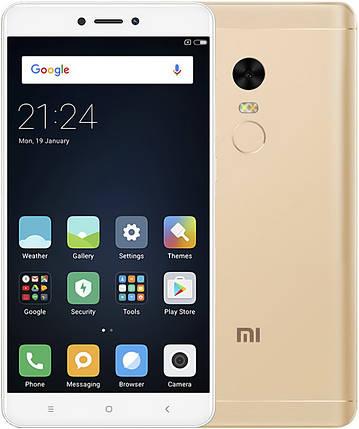Смартфон Xiaomi Redmi Note 4 Pro 4/64Gb Snapdragon Global Version Gold Гарантия 3 месяца / 12 месяцев, фото 2