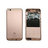 Задняя крышка Xiaomi Mi5c, розовая