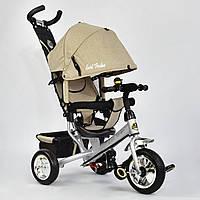 Детский трехколесный велосипед Best Trike 6588-0450 бежевый (колеса пена)