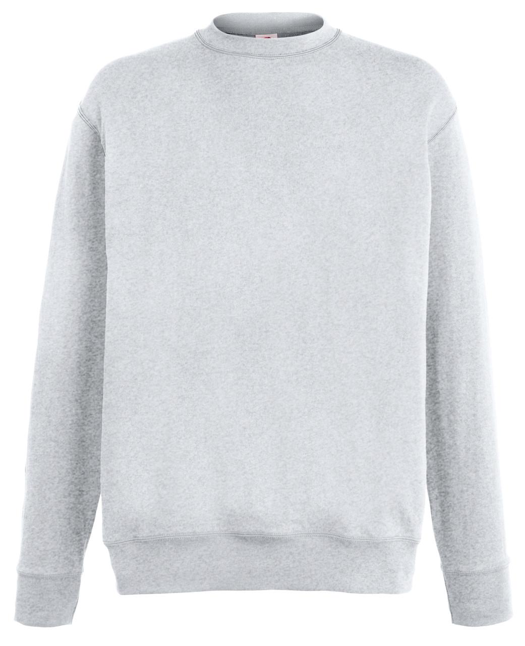 Мужской лёгкий свитер Серо-лиловый Fruit Of The Loom  62-156-94  S
