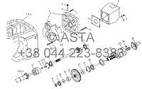 Коробка отбора мощности в сборе (дополнительно) 540r/min или 1000r/min на YTO X904, фото 1