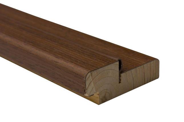 Коробка сосна шпон 75х30 мм орех, фото 2