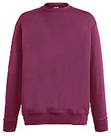 Мужской лёгкий свитер Бордовый Fruit Of The Loom  62-156-41  L