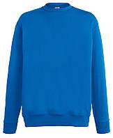 Мужской лёгкий свитер Ярко-синий Fruit Of The Loom  62-156-51  L