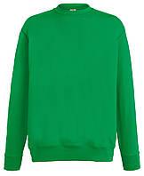 Мужской лёгкий свитер Ярко-зелёный  Fruit Of The Loom  62-156-47  Xl
