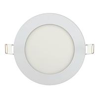 Врезной потолочный светодиодный светильник 6W 4000K Ø120 круглый BIOM
