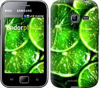"""Чехол на Samsung Galaxy Ace Duos S6802 Зелёные дольки лимона """"852u-253-601"""""""