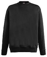 Мужской лёгкий свитер Чёрный Fruit Of The Loom  62-156-36 Xxl