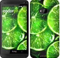 """Чехол на HTC Desire 616 dual sim Зелёные дольки лимона """"852u-670-601"""""""