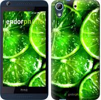 """Чехол на HTC Desire 626G Зелёные дольки лимона """"852c-144-601"""""""
