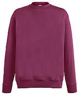 Мужской лёгкий свитер Бордовый Fruit Of The Loom  62-156-41 Xxl