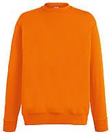 Мужской лёгкий свитер Оранжевый Fruit Of The Loom  62-156-44  Xxl