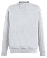 Мужской лёгкий свитер Серо-лиловый Fruit Of The Loom  62-156-94  Xxl