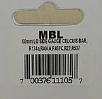 Манометр LBP низкого давления на R22, 134a, 404a, 407с, 507a MBL Mastercool, фото 3