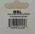 Манометр MBL Mastercool - LBP низкого давления на R-22, 134a, 404a, 407с, 507a; Bar/°C, фото 3