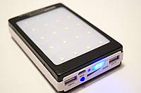 Power bank 50000mh с Led панелью и солнечной батареей, гарантия