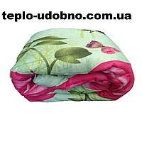 Полуторное одеяло силиконовое (холлофайбер) комбинированное 150/210