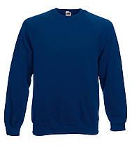 Мужской Классический Реглан Тёмно-Синий Fruit Of The Loom 62-216-32 S