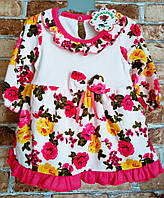 Платье-боди для девочки 9-12 месяцев