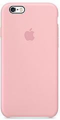 Чехол накладка на iPhone 5/5s/se Silicone Case светло розовый
