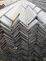Уголок стальной равнополочный 50х50х4 прокатный