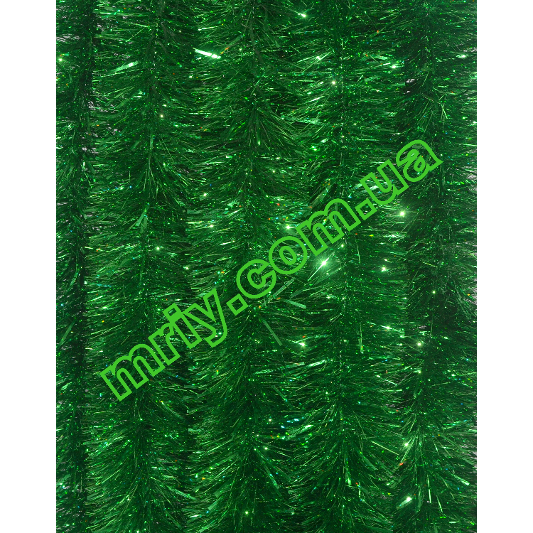 Новогодняя мишура Д10 наб зеленый