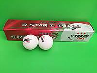 М'ячики для настільного тенісу DHS 3 STAR 6 шт.
