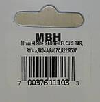Манометр HBP высокого давления на R22, 134a, 404a, 407с, 507a MBH Mastercool, фото 3