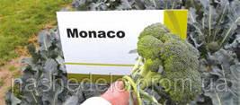 Семена капусты брокколи Монако F1 2500 семян Syngenta