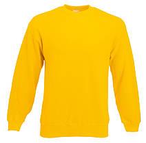 Мужской классический свитер Солнечно-жёлтый Fruit Of The Loom 62-202-34 S