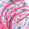 Оптом школьный/прогулочный рюкзак для девочек с супергероями - розовый - 17-006, фото 2