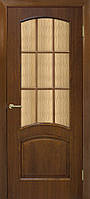 Дверное полотно Капри СС кора бронза шпон  Омис